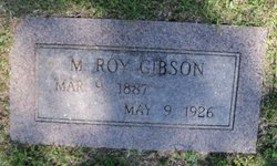 M Roy Gibson