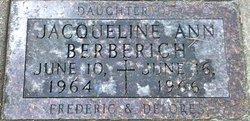 Jacqueline Ann Berberich