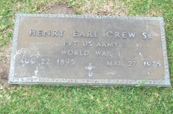 Henry Earl Crew, Sr