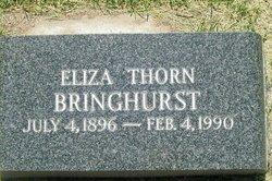 Eliza <I>Thorn</I> Bringhurst