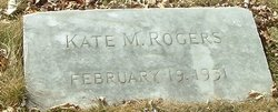 Kate M Rogers