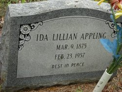 Ida Lillian <I>Symns</I> Appling
