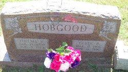 Thelma V. <I>Flanagan</I> Hobgood