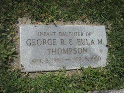 Infant Daughter Thompson