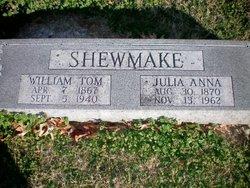 Julia Ann <I>Burge</I> Shewmake