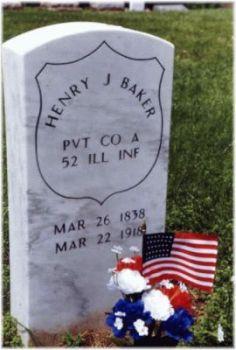 Pvt Henry J. Baker