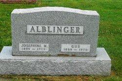 Josephine <I>Huber</I> Alblinger