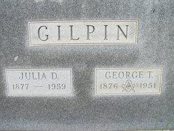 Julia <I>Dunbar</I> Gilpin