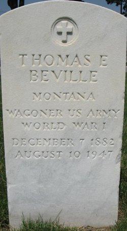 Thomas E Beville