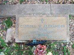 Carroll W Alexander