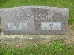 Ruby <I>Franklin</I> Anderson