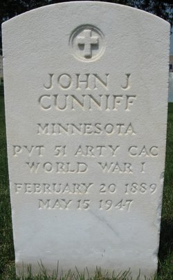 John J Cunniff