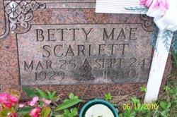 Betty Mae Scarlett