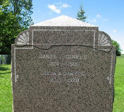 Julia Ann <I>Lantz</I> Daniels