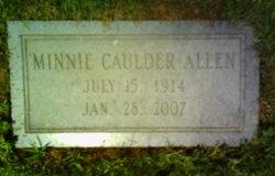Minnie <I>Caulder</I> Allen