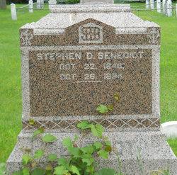 Stephen D. Benedict