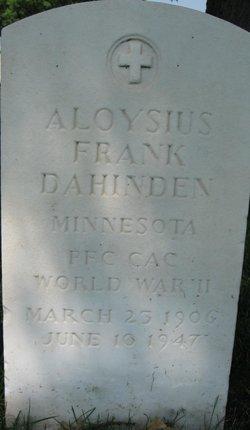 Aloysius Frank Dahinden