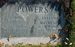 Evelyn Wayment Powers