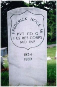 Pvt Frederick Hoge