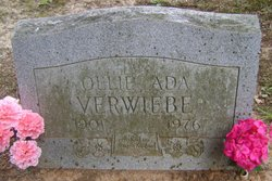 Ollie Ada <I>Pearson</I> Verwiebe