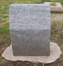 """Barton """"Barth"""" Hunter"""