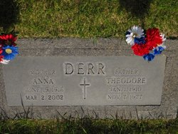 Anna <I>Hoffman</I> Derr