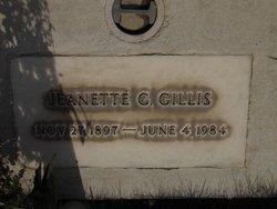 Jeanette Gladys <I>Bolick</I> Gillis
