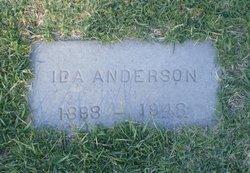 Ida B <I>Quarles</I> Anderson