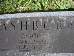 Caroline <I>Prentice</I> Ashburn