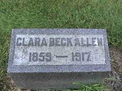 Clara <I>Beck</I> Allen