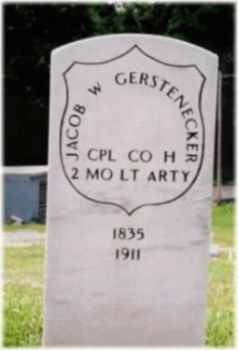 Corp Jacob W. Gerstenecker