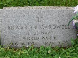 "Edward Bailey ""Buck"" Cardwell"