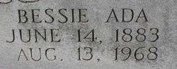 Bessie Ada <I>Nixon</I> Bagwell