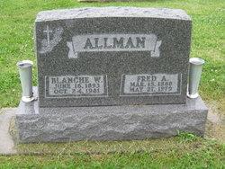 Blanche Winifred <I>Curtiss</I> Allman