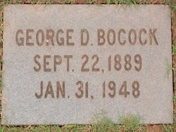George Derastus Bocock