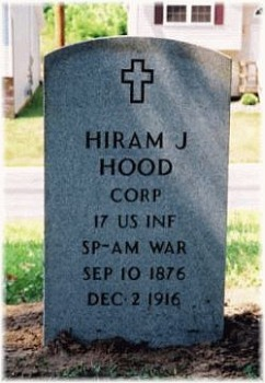 Corp Hiram J. Hood