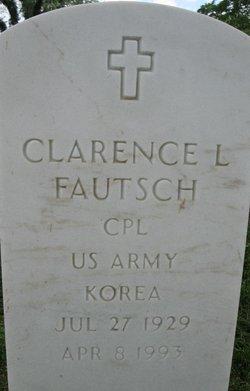 Clarence L Fautsch