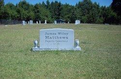 James Wiley Matthews Cemetery
