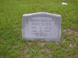 Emma <I>Hogan</I> Faircloth
