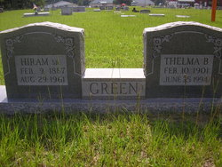 Thelma M <I>Brown</I> Green