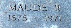 Maude <I>Rector</I> Allison
