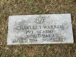 """Charles Isery """"Jack"""" Warren"""