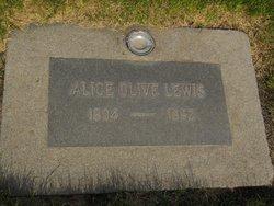 Alice Olive Lewis