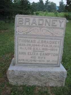 Ann Eliza <I>Campton</I> Bradney