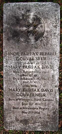 Mary Fairfax <I>Davis</I> Gouverneur