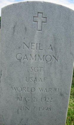 "Neil Avaloe ""Bud"" Gammon"