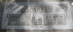 Lowell Leland Sparks