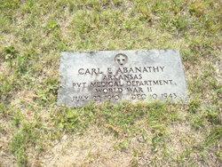 Carl Edgar Abanathy