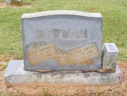 Minnie <I>Smith</I> Bowman