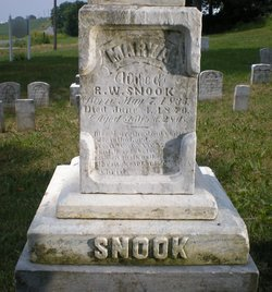 Mary Ann <I>Walker</I> Snook